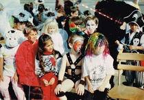 When I was in first grade I went to school on Halloween as a wrestler Not Hulk Hogan or the Ultimate Warrior