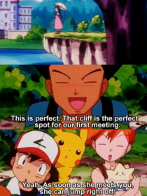 When it comes to romance I am Brock