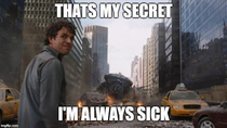 When my coworkers ask me how I never get sick