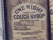 When our great great Grandfathers made purple drank they didnt fuck around