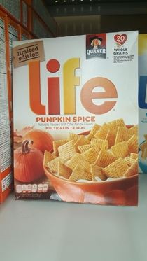 When pumpkin spice is life