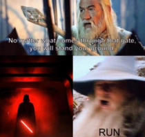 When Star Wars meets Lord of the Rings