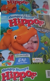 When the Hungry Hippos get a taste for human flesh