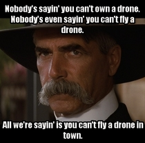 When the news reports drones