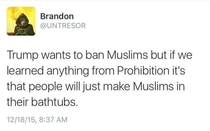 When the US bans Muslims