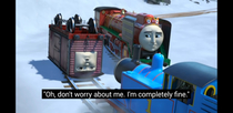 When Thomas and Friends is a little too relevant
