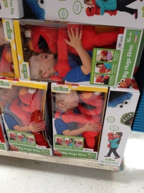 When toy displays go wrong