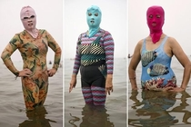 When you have a beach party at noon but a bank heist at  - Chinas Facekini