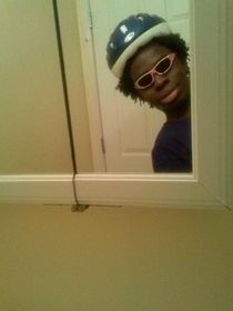 When you walk by a mirror at a party and youre trashed
