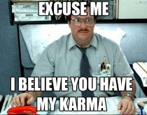 Whenever I see a post with  karma after posting the same thing a week ago for  karma