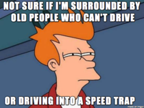 Whenever Im driving mph faster than the speed limit and rocketing past other cars
