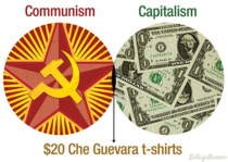 Where Communism and Capitalism overlap