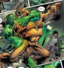 Where exactly is Hulks hand