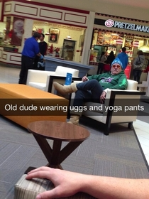White girls arent the only ones who wear uggs and yoga pants in the winter