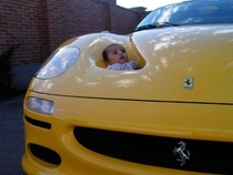 Who said ferraris arent family cars