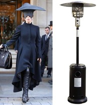 Who wore it better Gaga vs Outdoor Heater