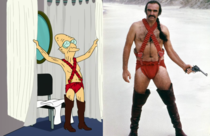 Who wore it better The ProfessorFuturama vs Sean Connery Zardoz