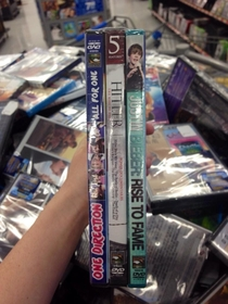 Whoever bundles the movies at Walmart has a good sense of humor