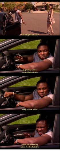 Why a Prius is the perfect thug car