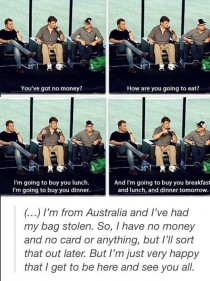 Why are Canadians so polite and niceNathan Fillion is THA BEST