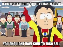 Why are people surprised by the quality of Taco Bells new breakfast menu