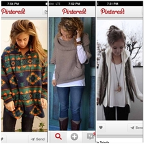 Why do all the women on Pinterest look like they found a penny
