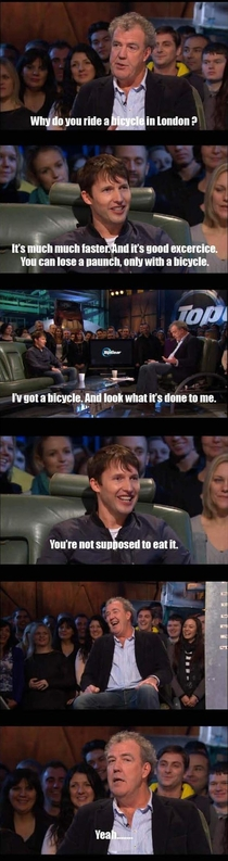 Why do you ride a bicycle in London