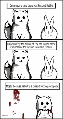 Why foxes and rabbits dont get along