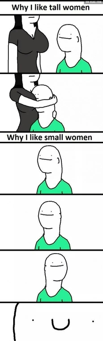 Why I like tall women