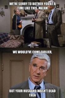 Why Police Squad is one of my favourite series