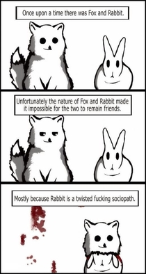 Why rabbits can never be truly trusted