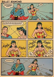 Why Wonder Woman uses Bracers