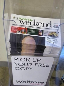 Why you should never put a bald guy on the cover of your paper