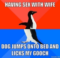 Wife started laughing I felt somewhat violated