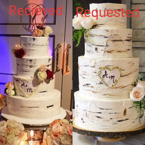 Wifes request for our wedding cake No complaints really