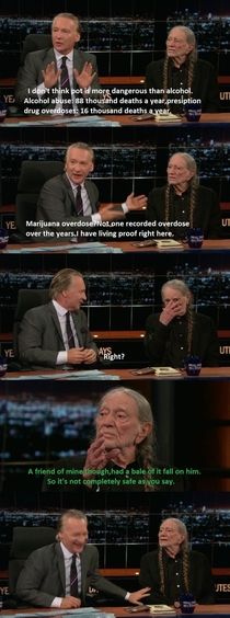 Willie Nelson on the dangers of Marijuana