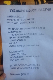 Winter Party Bruh