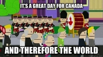 Wishing everyone a happy Canada Day as is tradition