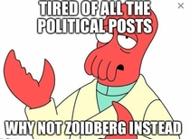 With all the political posts these days