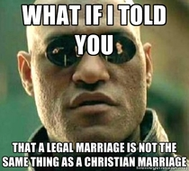With all this controversy with Kim Davis and now politicians chiming in about gay marriage I think we need to remember what separation of Church and State means