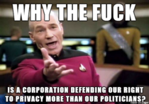 With the recent news surrounding Apple and the FBI