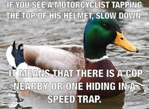With warmer weather approaching I thought I would share some advice that I learned only after getting a motorcycle It saved me twice last summer