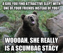 Wooah She Really a Scumbag Stacy