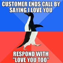 Working in a call centre this happens alot