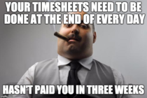 Workplace hypocrisy at its finest