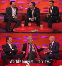 Worlds longest interview