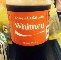 Would Whitney Houston share her coke