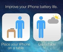 Yahoos recommendation for better battery life with iOS  update
