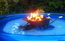 Yeah Ive got a pool Oh and its Heated