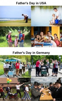 Yesterday I realized Americans have quite a different interpretation of Fathers Day than my fellow citizens